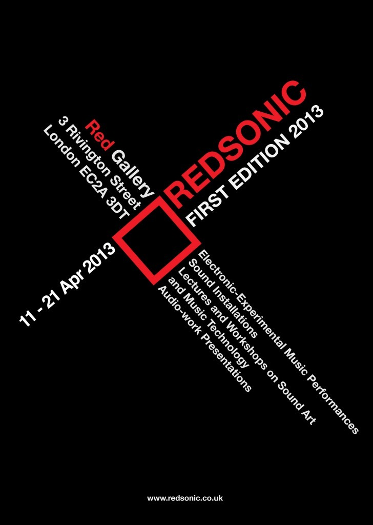 Red Sonic Festival poster