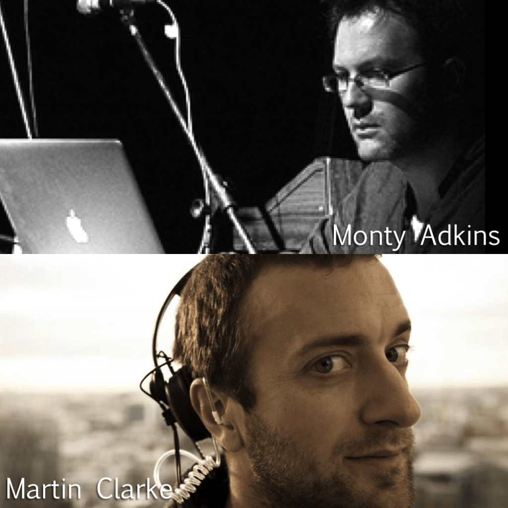 Monty Adkins and Martin Clarke