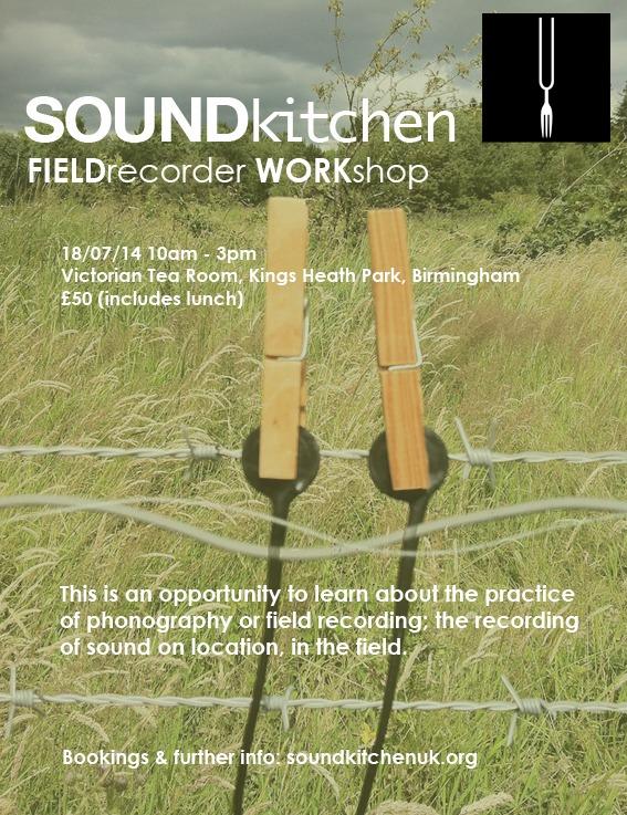 FIELD recorder workshop flyer